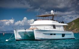 Fountaine Pajot Motor Yachts Queensland 55 : Mouillage à Saint Barth